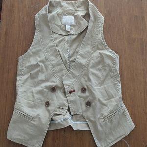 Banana Republic Heritage Stretch Workwear Vest